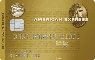 Carte pour entreprise AIR&nbsp;MILES<sup>MD*</sup> American&nbsp;Express<sup>MD</sup>