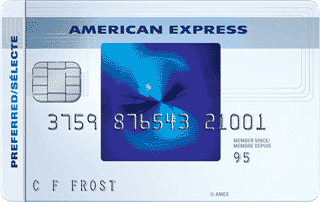 Carte sélecte RemiseSimple<sup>MC</sup> d'American&nbsp;Express