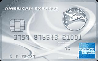 La Carte de crédit de Platine AIR&nbsp;MILES<sup>md*</sup> American&nbsp;Express<sup>MD</sup>