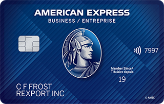 Carte entreprise Edge<sup>MD</sup> American&nbsp;Express