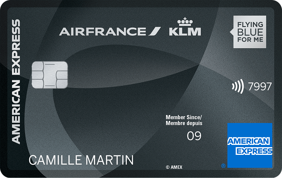 Carte Bleue Platinum.Carte Platinum Flying Blue Air France Klm Amex Fr