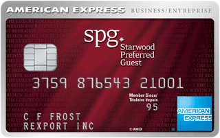 SPG-Starwood Preferred Guest Business Credit Card from American Express