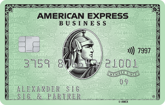 Business Cards  American Express Deutschland