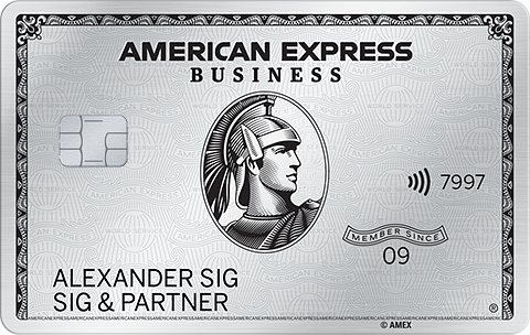 Business Platinum Card  American Express Deutschland
