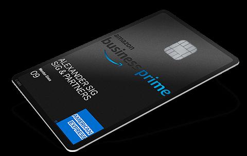 Amazon Business Prime Card American Express® Deutschland