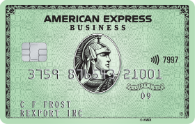 American Express Green Business Card