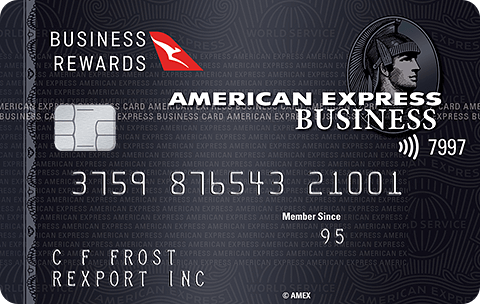 American Expres Qantas Business Rewards Card