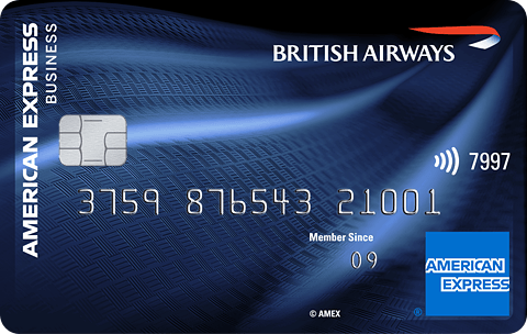 BA AMEX Business Card