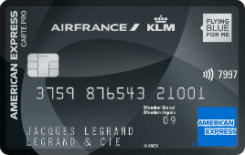 Carte Pro Air France KLM - American Express Platinum