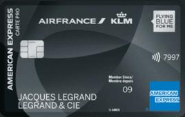 Carte Pro Air France KLM - American Express Platinum