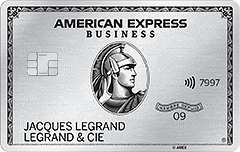 Carte Business Platinum American Express