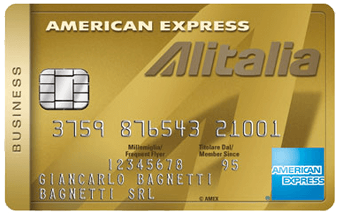 Carta Alitalia Business Oro American Express
