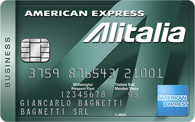 Carta Alitalia Business American Express