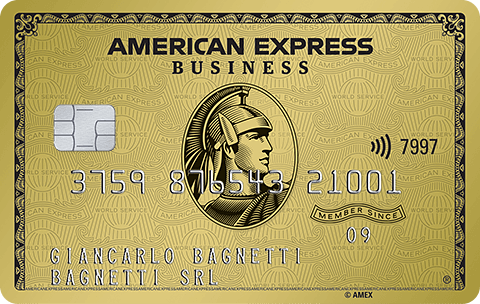 Carta Oro Business American Express
