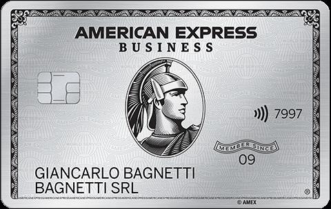 Carta Platino Business American Express