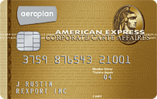 American Express AeroplanPlus Corporate Card