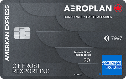 American Express® Aeroplan®* Corporate Card