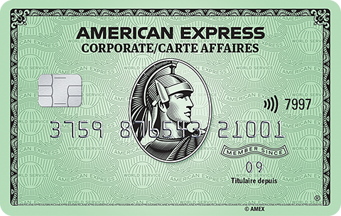 Carte Verte affaires American Express