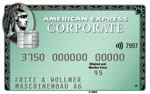 Corporate Card  American Express Deutschland