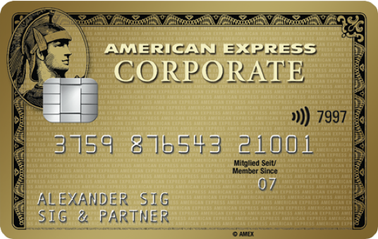 American Express Corporate Gold Card