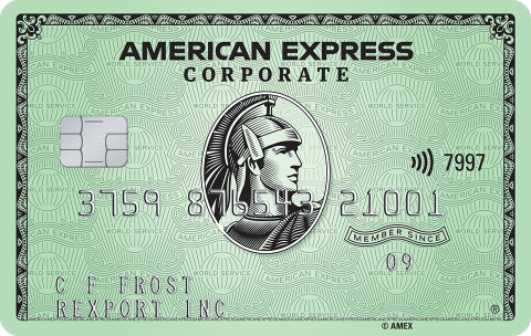 American Express Corporate Greed Card