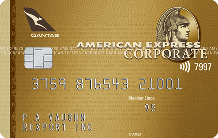 American Express Qantas Corporate Gold Card