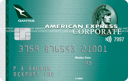 American Express Qantas Corporate Green Card