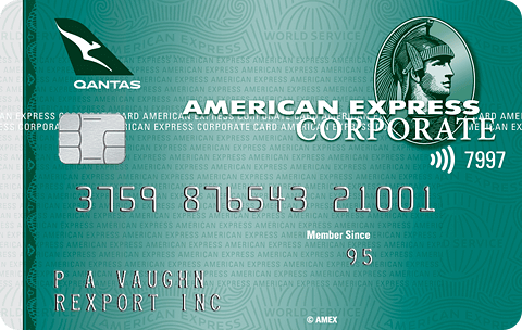 American Express Qantas Corporate Green Card