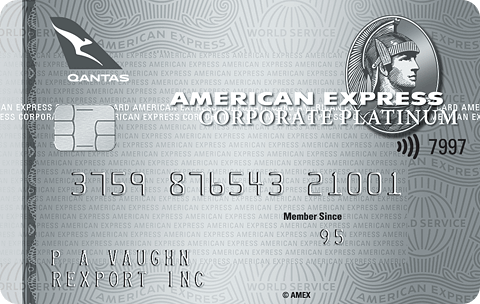 American Express Qantas Corporate Platinum Card