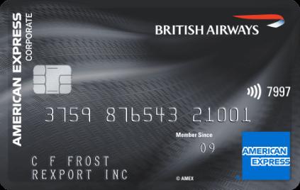 British Airways American Express Corporate Card Plus