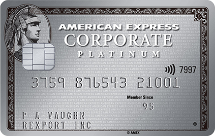 Corporate Platinum Card  American Express Business UK