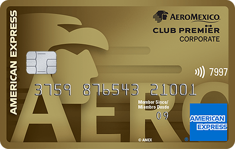 American Express Gold Corporate Card Aeroméxico
