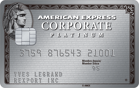 Carte Corporate Platinum American Express