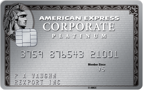 Carta Corporate Platino American Express