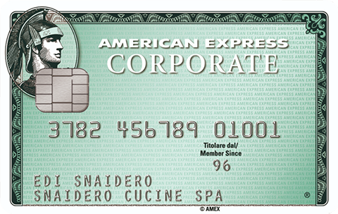 Carta Corporate Signature On File American Express