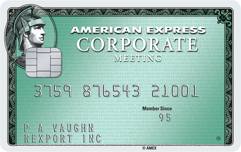 Carta Corporate Meeting American Express