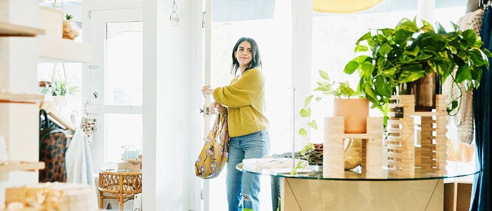 Woman holding mobile phone using smartphone apps concept, couple customers shopping, texting message, searching information online, checking social networks, banking, making order on cell, close up