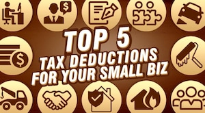Top Tax Deductions for Your Business