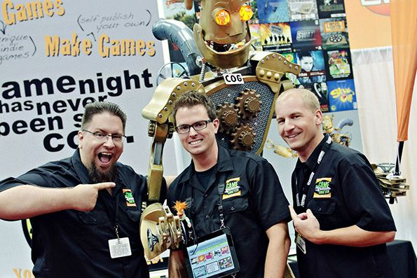 JT Smith, a founder of The Game Crafter, has been making his own board games for two decades.