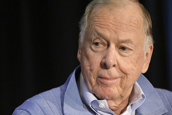 T. Boone Pickens, Founder of BP Capital and TBP Investments Management