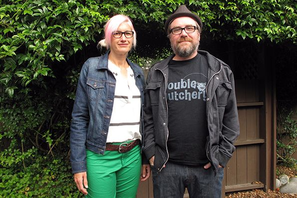Wendy and Robbie Whiting, husband-and-wife cofounders of DoubleDutchery