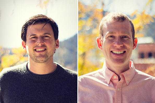 Yoav Lurie and Justin Segall, the co-founders of Boulder-based Simple Energy