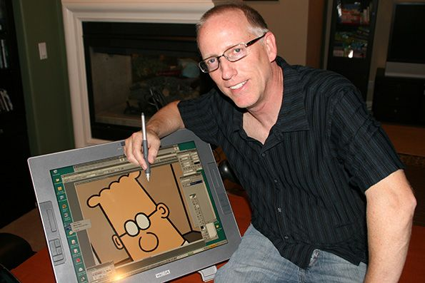 Scott Adams is probably best known for his 25-year-old comic strip Dilbert, but when the famous cartoonist isn't making America laugh with his satirical office humor, he's starting new businesses.