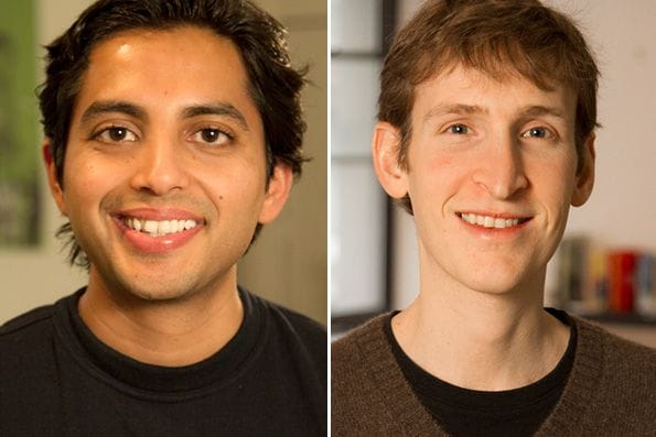 Entrepreneurs Kunal Sarda and Ryan Frankel