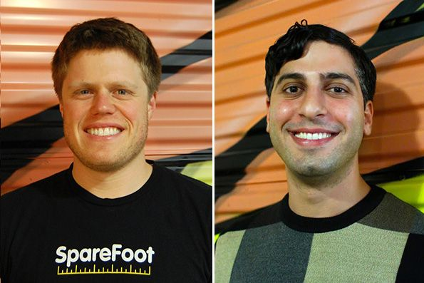 Chuck Gordon and Mario Feghali moved their year-old startup from California to Texas to be part of an entrepreneurial incubator. Since then, SpareFoot has grown into a 150-employee Austin-based online marketplace for self-storage units, and Texas has become something of a new nirvana for businesses looking to get ahead by relocating.