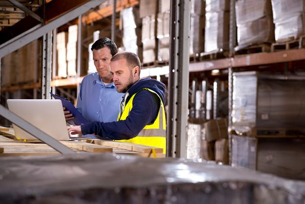 warehouse inventroy - In manufacturing, it may be inventory turnovers or percentage of defective returns.