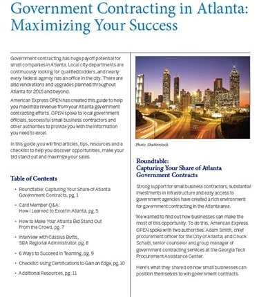 Boost Your Business With Government Contracting Opportunities