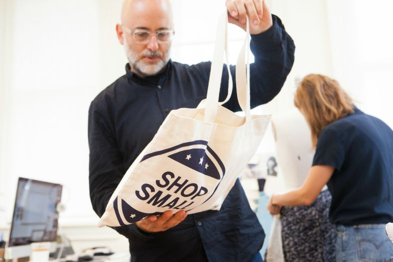 Steven Alan photographed by Rose Callahan in NYC on Aug 11, 2015