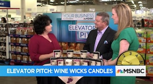 Elevator Pitch: Wine Wicks Candles