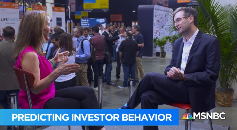 Learning How To Predict Investor Behavior